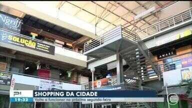 Shopping da Cidade volta a funcionar nesta segunda-feira (10) - Shopping da Cidade volta a funcionar nesta segunda-feira (10)