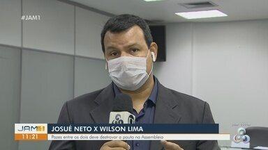 Em Manaus, Josué Neto e Wilson Lima devem destravar pautas na Assembleia - Em Manaus, Josué Neto e Wilson Lima devem destravar pautas na Assembleia .