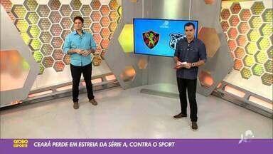 Tom Alexandrino analisa desempenho do Ceará em 1ª rodada do Brasileirão 2020 - Saiba mais no ge.globo/ce