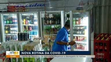 Cidadãos de Taquaruçu deixam de se precaver contra a Covid-19 - Cidadãos de Taquaruçu deixam de se precaver contra a Covid-19