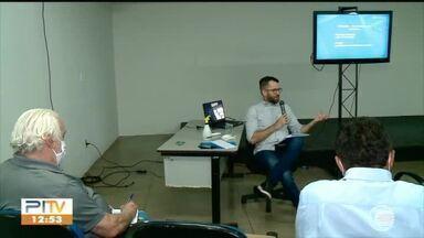 Rede Clube realiza encontro com partidos para discutir cobertura das eleições - Rede Clube realiza encontro com partidos para discutir cobertura das eleições