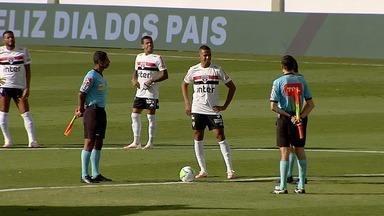 Partida entre Goiás e São Paulo é adiada minutos antes do apito inicial - Nove jogadores esmeraldinos testaram positivo para Covid-19