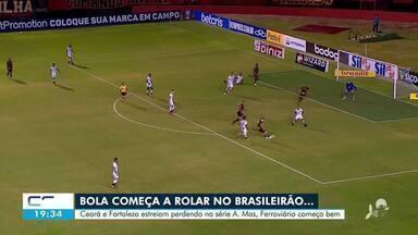 Ceará e Fortaleza estreiam perdendo na série A - Saiba mais em g1.com.br/ce