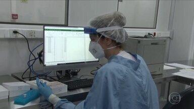 Fiocruz inaugura unidade que amplia a capacidade de testes para detectar a Covid - O novo laboratório de biologia molecular vai processar até 15 mil testes do tipo PCR por dia e aumenta em sete vezes a capacidade de testagem em instituto no Rio. O ministro interino da Saúde comentou, pela primeira vez, as mais de 100 mil mortes.