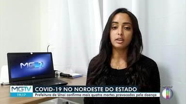 Prefeitura de Unaí confirma mais quatro mortes por Covid-19 - Dois óbitos são de idosos que moravam no asilo da cidade.