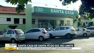 A situação da Covid-19 no interior do estado - São José do Rio Preto instala novos leitos de UTI para tratamento da doença. E Presidente Prudente fará testagem de idosos.