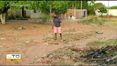 Moradores de setor em Araguaína reclamam da falta de asfalto e das condições das ruas - Moradores de setor em Araguaína reclamam da falta de asfalto e das condições das ruas