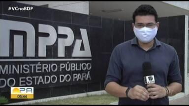 Relatório do MPPA acompanha números da Covid-19 no Pará - Relatório do MPPA acompanha números da Covid-19 no Pará