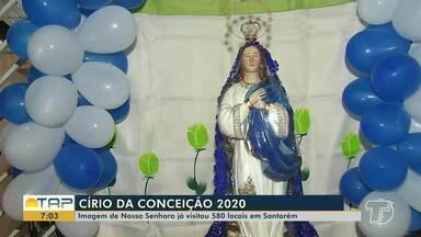Imagem peregrina de N. Sra. da Conceição já visitou 580 locais em Santarém - Grande círio deve acontecer no dia 22 de novembro.