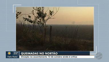 Situação no assentamento 12 de outubro ainda é crítica com relação a queimadas - Situação no assentamento 12 de outubro ainda é crítica com relação a queimadas