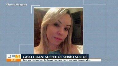 Justiça concede habeas corpus para três envolvidos na morte de Lilian de Oliveira, em GO - Irmã de mulher morta após desembarcar em aeroporto se revolta com decisão que manda soltar suspeitos: 'Indignada'.