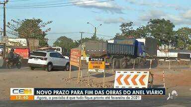Obras do Anel Viário tem previsão de término em fevereiro de 2021 - Saiba mais no g1.com.br/ce