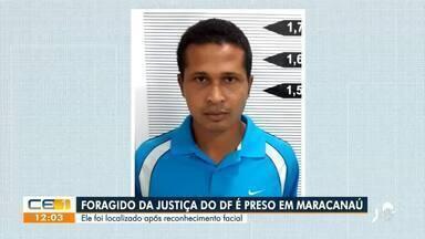 Homem procurado pela Justiça do Distrito Federal é preso em Maracanaú - Saiba mais no g1.com.br/ce