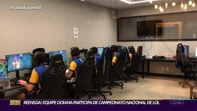Equipe goiana participa de campeonato nacional de LOL - Rensga representou o estado na competição