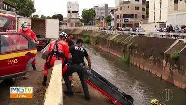 Polícia identifica corpo de ossada encontrada em Governador Valadares - Ele foi encontrado dentro do canal do Córrego do Figueirinha.