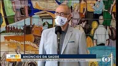 Estado decide implantar hospital de campanha para operar durante a pandemia - Estado decide implantar hospital de campanha para operar durante a pandemia