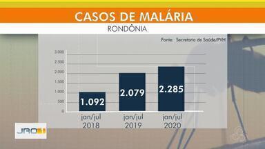 Aumento da malária em Porto Velho - Secretaria trabalha na conscientização da população.