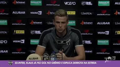 Juscelino Filho traz informações de Ceará x Grêmio direto da Arena Castelão - Saiba mais em ge.globo/ce