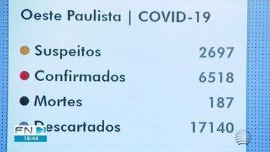 Pandemia da Covid-19 continua a avançar sobre a região de Presidente Prudente - Confira a atualização do mapa de casos registrados no Oeste Paulista.
