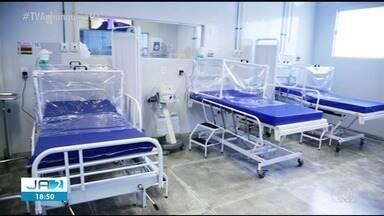 Hospital de Campanha recebe novos respiradores em Araguaína - Hospital de Campanha recebe novos respiradores em Araguaína