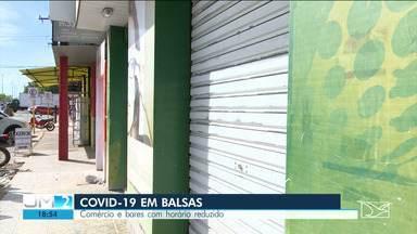 Em Balsas, começa a valer medidas de restrição mais duras determinadas pela prefeitura - Na terça-feira (18), duas pessoas morreram na cidade e as UTI's continuam lotadas.
