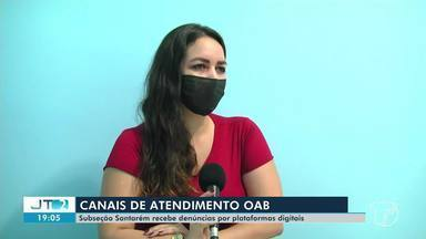 OAB Santarém tem canais de atendimentos por plataformas digitais - Confira.