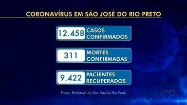 Rio Preto confirma mais 11 mortes e 301 novos infectados pela Covid-19 - A Secretaria de Saúde divulgou que São José do Rio Preto (SP) teve nesta quarta-feira (12) mais 11 mortes por causa do coronavírus e 301 novos infectados pela doença.
