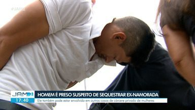 Homem é preso suspeito de sequestrar ex-namorada - Ele também pode estar envolvido em outros casos de cárcere privado de mulheres