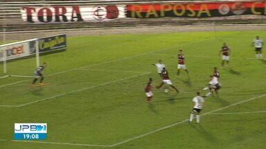 Treze vence primeira partida da final do Campeonato Paraibano - A grande final será no sábado (15).