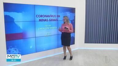 Mais de 160 mil pessoas estão infectadas pelo coronavírus em Minas - Nas últimas 24 horas foram registradas 170 mortes.