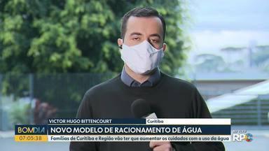 Sanepar divulga novo modelo de racionamento de água - Famílias de Curitiba e Região vão ter que aumentar os cuidados com o uso da água.