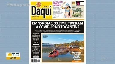 Confira as manchetes do Jornal Daqui desta quinta-feira (13) - Confira as manchetes do Jornal Daqui desta quinta-feira (13)