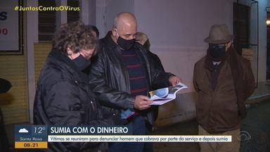 Moradores de Porto Alegre denunciam homem por estelionato - Segundo os clientes, suspeito cobrava metade do serviço antes de executar e desaparecia.