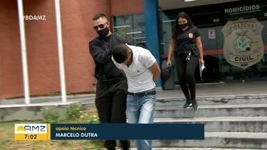 Homem suspeito de manter ex-namorada em cárcere é preso em Manaus - Homem suspeito de manter ex-namorada em cárcere é preso em Manaus