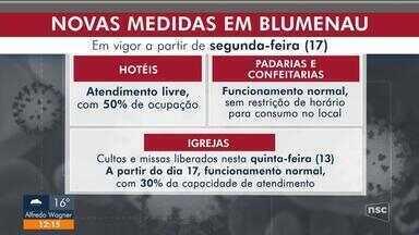 Blumenau anuncia novas flexibilizações para comércio e shoppings - Blumenau anuncia novas flexibilizações para comércio e shoppings
