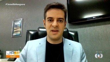Saúde investiga possível reinfecção em seis goianos - Secretário de Saúde Ismael Alexandrino fala sobre o assunto.
