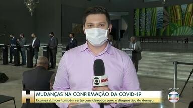 Mudanças na confirmação do diagnóstico da Covid-19 - Em São Paulo, segundo o Governo do Estado, essa mudança refletiu no aumento do número de mortes.