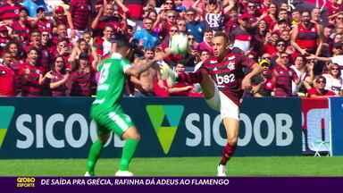 De saída para Grécia, Rafinha dá adeus ao Flamengo - De saída para Grécia, Rafinha dá adeus ao Flamengo