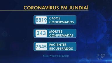 Jundiaí registra mais cinco mortes por Covid-19 e contabiliza 343 óbitos - Mais 151 casos confirmados foram notificados nesta sexta-feira (14), chegando ao total de 8.819.