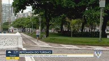 Estado acredita que turistas voltem primeiro para litoral e interior - Estudo do Governo do Estado mapeou a recuperação do turismo.