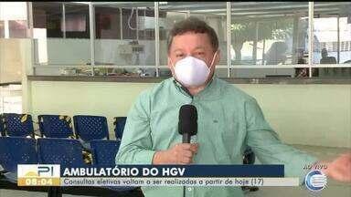 Hospital Getúlio Vargas, em Teresina, volta a fazer consultas eletivas - Hospital Getúlio Vargas, em Teresina, volta a fazer consultas eletivas