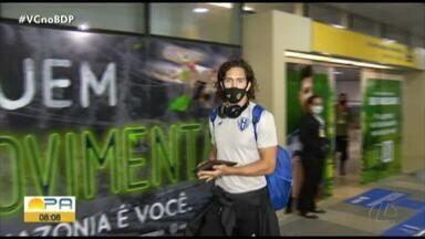 Paysandu desembarca em Belém após a derrota por 2 a 0 para o Vila Nova. Veja os gols: - Paysandu desembarca em Belém após a derrota por 2 a 0 para o Vila Nova. Veja os gols: