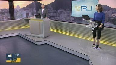 Bom Dia Rio - Edição de segunda-feira, 17/08/2020 - As primeiras notícias do Rio de Janeiro, apresentadas por Flávio Fachel, com prestação de serviço, boletins de trânsito e previsão do tempo.