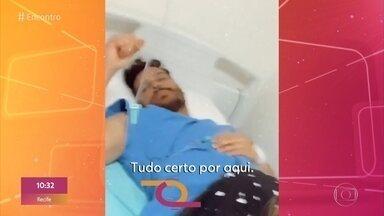 Novo coronavírus: Cauan, da dupla com Cléber, segue internado - Confira estas e mais notícias