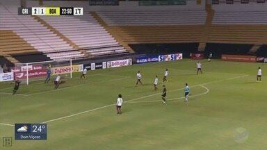 Boa Esporte perde para o Criciúma em Santa Catarina pela Série C - Boa Esporte perde para o Criciúma em Santa Catarina pela Série C