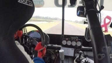 Djalma Pivetta alcança quinta colocação na segunda etapa da Copa Truck - O piloto de Laranjal Paulista (SP) Djalma Pivetta conseguiu atingir a quinta colocação geral na segunda etapa da Copa Truck, realizada no domingo (16), no autódromo de Goiânia.