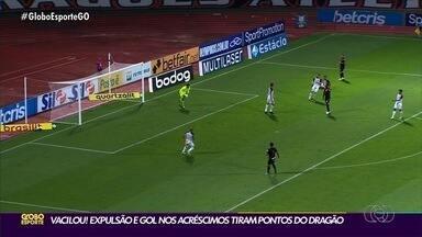 Atlético-GO começa vencendo, mas cede empate para Sport - Dragão ficou no 1 a 1 contra time pernambucano