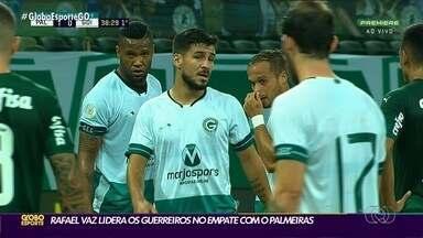Mesmo defalcado, Goiás consegue empate com Palmeiras - Time conseguiu bom resultado fora de caso mesmo em meio a adversidades
