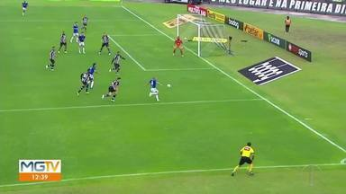 Cruzeiro soma os primeiros pontos da segundona - Equipe venceu o Figueirense, fora de casa, por 1 a 0.
