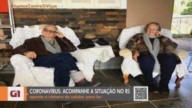 Ex-prefeito de Pouso Novo e esposa morrem por coronavírus - Helena Baiocco Bonacina tinha 83 anos e morreu no Hospital Bruno Born, em Lajeado. Angelo Bonacina tinha 89 anos. Eles foram as primeiras vítimas da doença na cidade.
